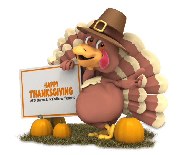 Happy Thanksgiving MB Buzz Reollow team